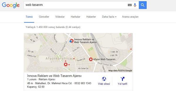 Google Harita Kaydı Google Maps Kaydı