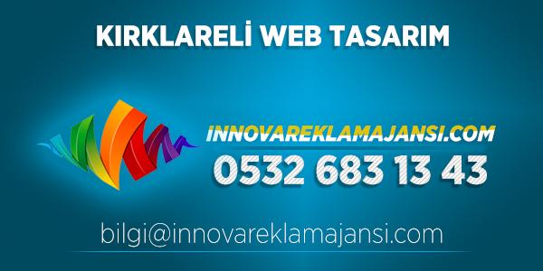 Kırklareli Pınarhisar Web Tasarım