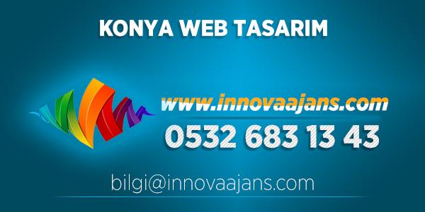 Konya web tasarım firması