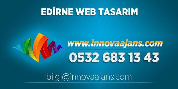 Edirne Merkez Web Tasarım