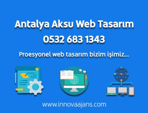 Antalya Aksu Web Tasarım