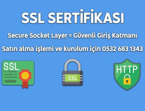 SSL Sertifikası Satın Al
