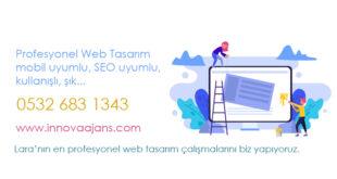 Antalya Lara web tasarım