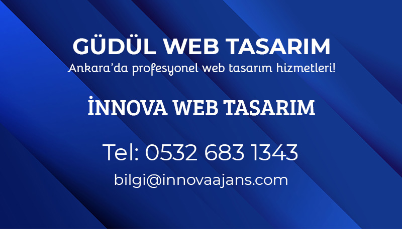 Güdül web tasarım