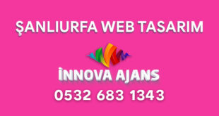 Şanlıurfa web tasarım firması
